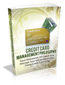 credit card management philosophy